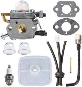 Hipa® C1U-K42 Carburetor + Tune Up Kit Air Filter for Echo PB2100 Handheld Leaf Blower